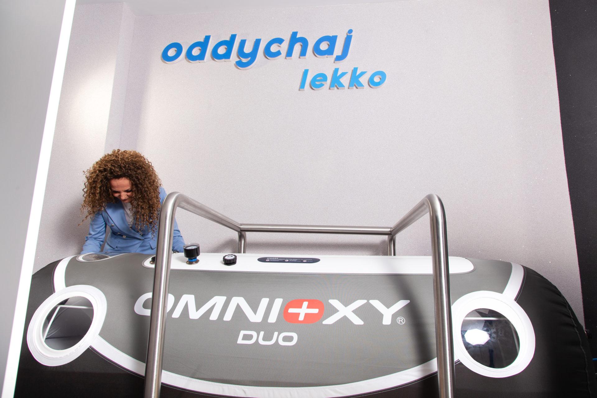 Tlenoterapia Katowice - komora hiperbaryczna Omnioxy Duo