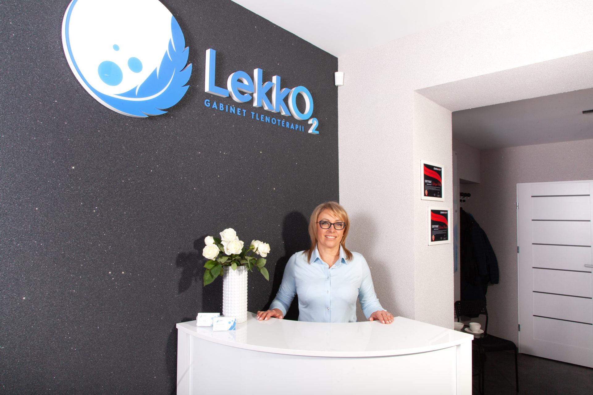Katarzyna Nowak - LekkO2 - Tlenoterapia Katowice